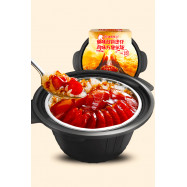 image of [Joy Snacks] Haidilao Clay Pot Lazy Roasted Meat Rice 217g 腊味双拼煲仔味 - KN172
