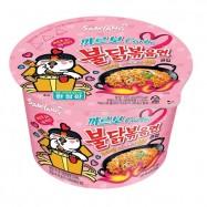 image of [Joy Snacks] Korea Samyang Carbonara Hot Spicy Chicken Ramen Bowl 105g