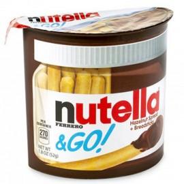 image of [Joy Snacks] Ferrero Nutella & Go Snacks Brot Stick 52g