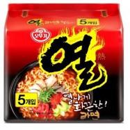 image of [Joy Snacks] Korean Ottogi Yeul Spicy Ramen Noodle (5x120g)