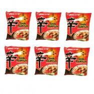 image of [Joy Snacks] Halal Korea NongShim Shin Ramyun Ramen Halal (120g X 6pack)