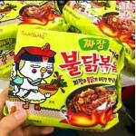 [Joy Snacks] Korea Samyang Jjajang Buldak Bokyunmyun (140g x 5)