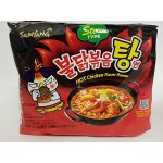 [Joy Snacks] Korean Samyang Hot Chicken Spicy Stew Ramen Soup Noodle (5 x 145g) - KN111
