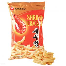 image of [Joy Snacks] Korea Nongshim Shrimp Crackers 75g Shrimp/Hot Flavor - KN51/KN52