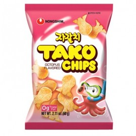 image of [Joy Snacks] Korea Nongshim Tako Chip Snack 60g Korea Snack - KN56