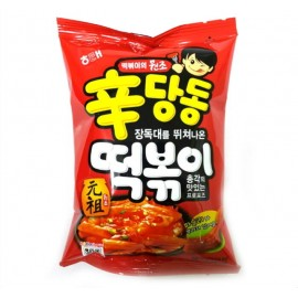 image of [Joy Snacks] Korea Haitai Shin Dang Dong Rice Cake Sweets Tteokbokki Snack 110g