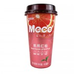 [Joy Snacks] Meco Juice Tea (Kumquat&Lemon/Peach Pink Grapefruit/Thai Lime) 400ml