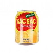 image of [Joy Snacks] Sac Sac Orange/Grape Drink 238ml - KN132/KN133
