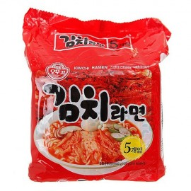 image of [Joy Snacks] Korean Ottogi Kimchi Ramen Noodle (5x120g) - KN141