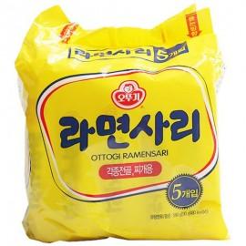 image of [Joy Snacks] Korean Ottogi Ramen Sari Noodle (5x110g) - KN143