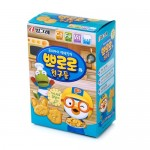 [Joy Snacks] Binggrae Pororo Original/Cheese/Cacao Nutritious Biscuits 65g