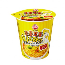 image of [Joy Snacks] Korean Ottogi Cheese Ramen Noodle Cup 62g- KN191
