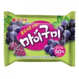 image of [Joy Snacks] Orion Grape Juice Jelly Candy 66g - KN193