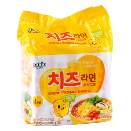 image of [Joy Snacks] Paldo Cheese Ramyun Fromage Noodle (115g x 4ea) - KN203
