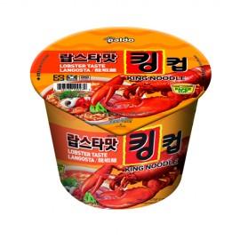 image of [Joy Snacks] Paldo King Cup Lobster Flavor Noodle 110g - KN204