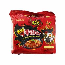 image of [Joy Snacks] Korea Samyang 2X Spicy Hot Chicken Flavour Ramen (5x140g) - KN238