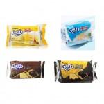[Joy Snacks] Indonesia Gery Cheese/Choco/Coconut/Dark Choco Crackers Bag 100g