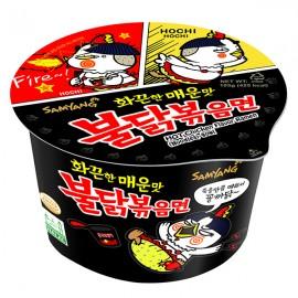 image of [Joy Snacks] Korea Samyang Halal Hot Chicken Flavor Ramen Big Bowl 105g - KN404