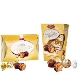 image of [Joy Snacks] Ukraine ABK Royal Masterpiece Sweets 245g/125g - KN435/KN412