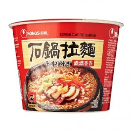 image of [Joy Snacks] NongShim Clay Pot Ramyun Big Bowl 117g - KN424