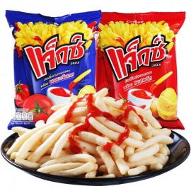 image of [Joy Snacks] Calbee Jaxx Potato Sticks With Tomato/Chilli Sauce 55g - KN89