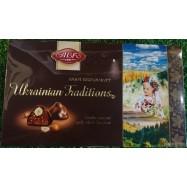image of [Joy snacks] ABK UKRAINIAN TRADITIONS CHOCOLATES 180G-KN466