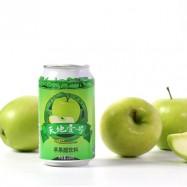 image of [Joy Snacks] Tian Di No.1 Apple Vinegar Drink 330ml - KN483