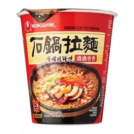 image of [Joy Snacks] NongShim Clay Pot Ramyun Cup 70g - KN91