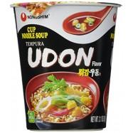 image of [Joy snacks] NongShim Cup Noodle Soup Tempura Udon 62g - KN24