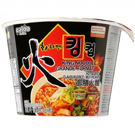 image of [Joy Snacks] Paldo Hwa Hot & Spicy Noodle King Cup Soup 110g - KN205