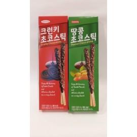 image of [Joy Snacks] Sunyoung Crunky/Peanut Choco Stick 54g - KN92/KN93