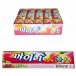 [Joy Snacks] Korea Crown Mychew Grape / Peach Flavor Candy 44g - KN273/KN415