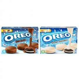image of [Joy Snacks] Oreo Chocolate / White Chocolate Covered 246G - KN182/KN183
