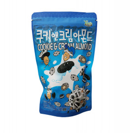 image of [Joy Snacks] Gilim Cookie & Cream Almond 190g - KN165