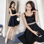 Sexy lace strap dress