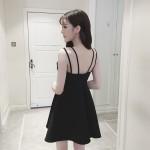 Halter sexy strapless halter dress
