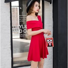 image of Sleevesless Waist sleeveless dress