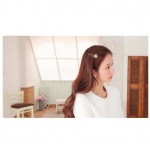 Korean Fashion Rhinestone Leaves Branches Earrings Ear Jacket