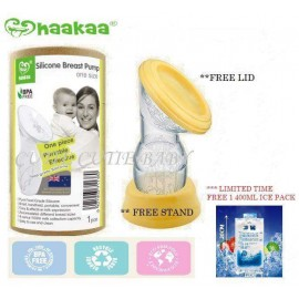 image of 100% Original Haakaa Silicone Breastpump