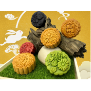 image of Traditional Mooncake Series (4pcs) 传统烤皮系列 180G