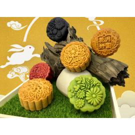 image of Traditional Mooncake Series (4pcs) 传统烤皮系列 180G