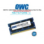 OWC 4GB PC3-12800 DDR3L 1600MHz SO-DIMM 204 Pin CL11 Macbook Ram Memory Upgrade For Multiple iMac Models And PCs Which Utilize PC3-12800 SO-DIMM Model OWC1600DDR3S4GB