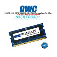 image of OWC 8GB PC3-8500 DDR3 1066MHz SO-DIMM 204 Pin Macbook Ram Memory Upgrade For Multiple iMac Models And PCs Which Utilize PC3-8500 SO-DIMM Model OWC8566DDR3S8GB