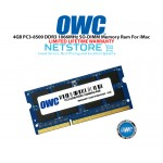 OWC 4GB PC3-8500 DDR3 1066MHz SO-DIMM 204 Pin Macbook Ram Memory Upgrade For Multiple iMac Models And PCs Which Utilize PC3-8500 SO-DIMM Model OWC8566DDR3S4GB