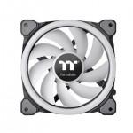 Thermaltake Riing Trio 12 RGB Radiator Fan TT Premium Edition (3-Fan Pack) CL-F072-PL12SW-A 120mm RGB LED Case Fan