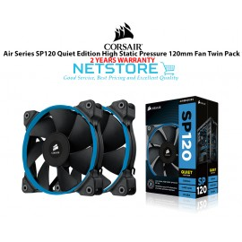 image of Corsair Air Series SP120 Quiet Edition 120mm High Static Pressure Twin Pack Fan ( CO-9050006-WW )