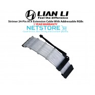 image of Lian Li Strimer 24-Pin ATX Extension Cable With Addressable RGBs