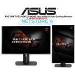 "ASUS ROG SWIFT PG278QR Black 27"" 1ms (GTG) 165Hz WQHD 2560x1440 NVIDIA G-Sync Gaming Monitor, VESA Mountable, USB 3.0, Tilt, Swivel, Pivot, Height Adjustable"