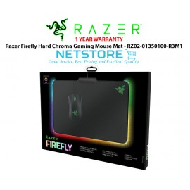 image of Razer Firefly Hard Chroma Gaming Mouse Mat - RZ02-01350100-R3M1