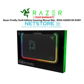 image of Razer Firefly Cloth Edition Gaming Mouse Mat - RZ02-02000100-R3M1